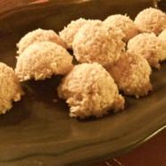 Raw Coconut Macaroons